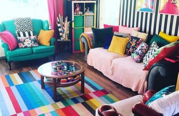 Renkli Oda Dekorasyon Fikirleri